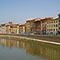 Hotels and apartments on the River Arno in Florence